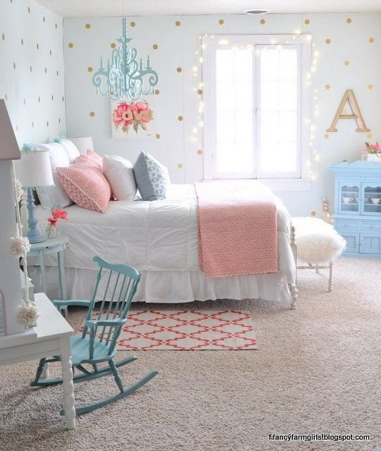 Best Fancy Farmhouse Bedroom Makeover 1St Home Design Kids Girls Bedroom Furniture Girl Room With Pictures