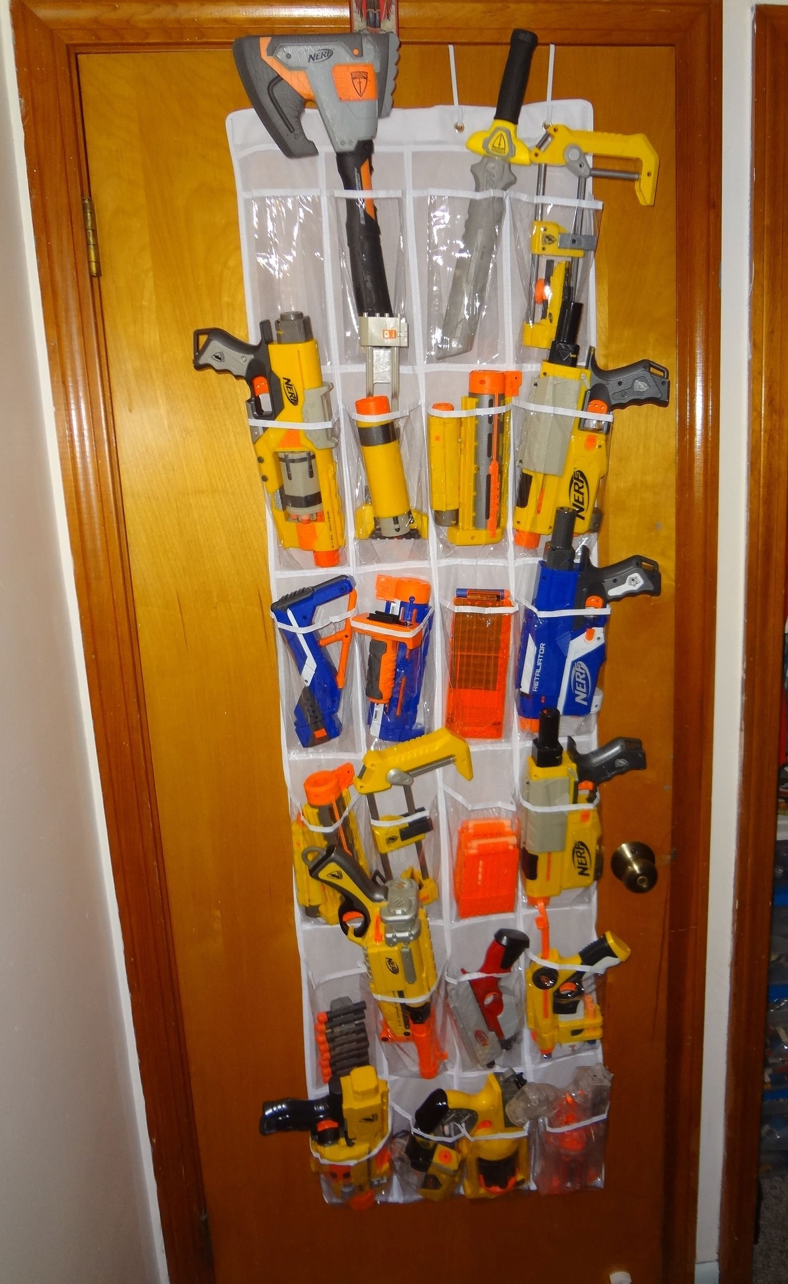 Best A Great Way To Store Nerf Weaponry … Kids In 2019… With Pictures