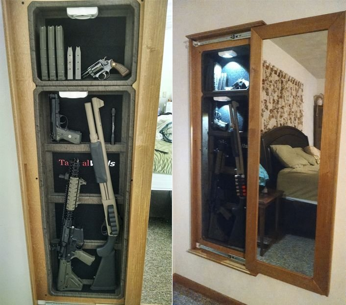 Best 1450M Bundle At Tacticalwalls Com Concealment Mirrors With Pictures