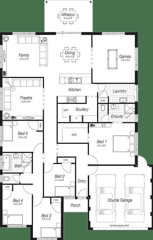 Best Home Plans Perth The Bodiam Complete Homes Floorplan In 2019 Pinterest House Plans With Pictures