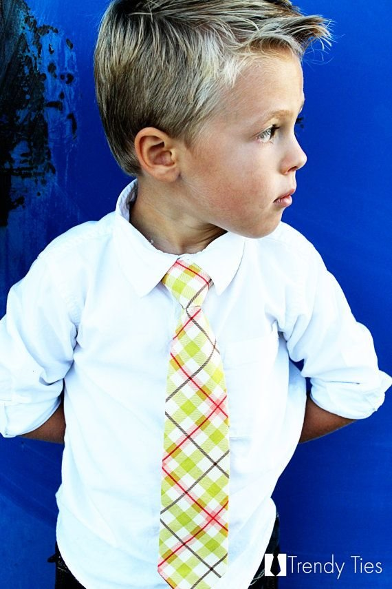 Free Cute Plaid Tie For Kian For The Kidletts Boy Wallpaper