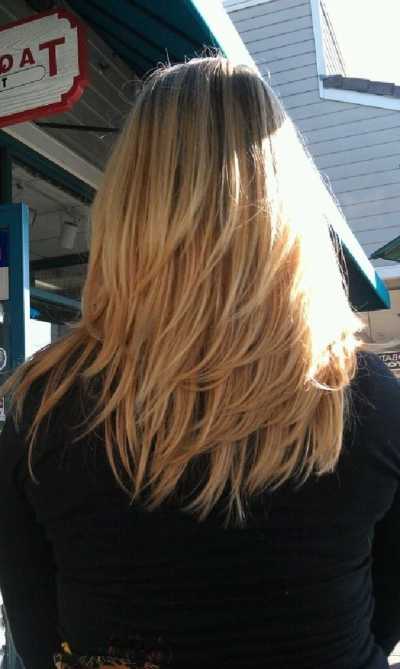 Free Medium Length Layered Hairstyles Back View 2015 Best Wallpaper