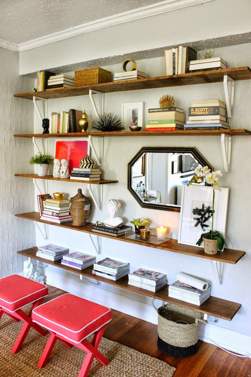 Best Of The Nest August Features I Love Shelves Ikea With Pictures