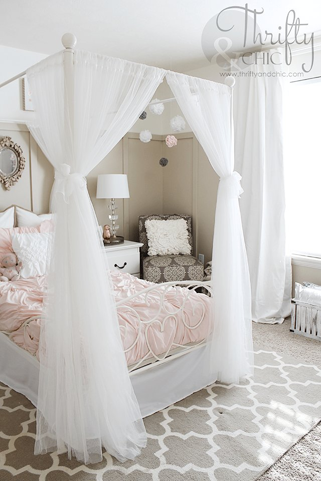 Best Big Girl Bedroom Makeover Best Of Thrifty And Chic Big With Pictures