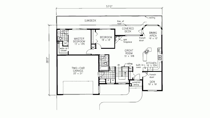 Best House Plan Ranch 2 Bedroom 2 Bath With Main Floor Laundry And Walkout Basement Dream Home With Pictures