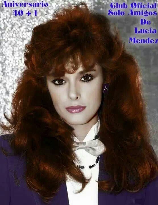 Free Lucia Mendez Early 80S Big Hair Lucia 80S Big Hair Wallpaper
