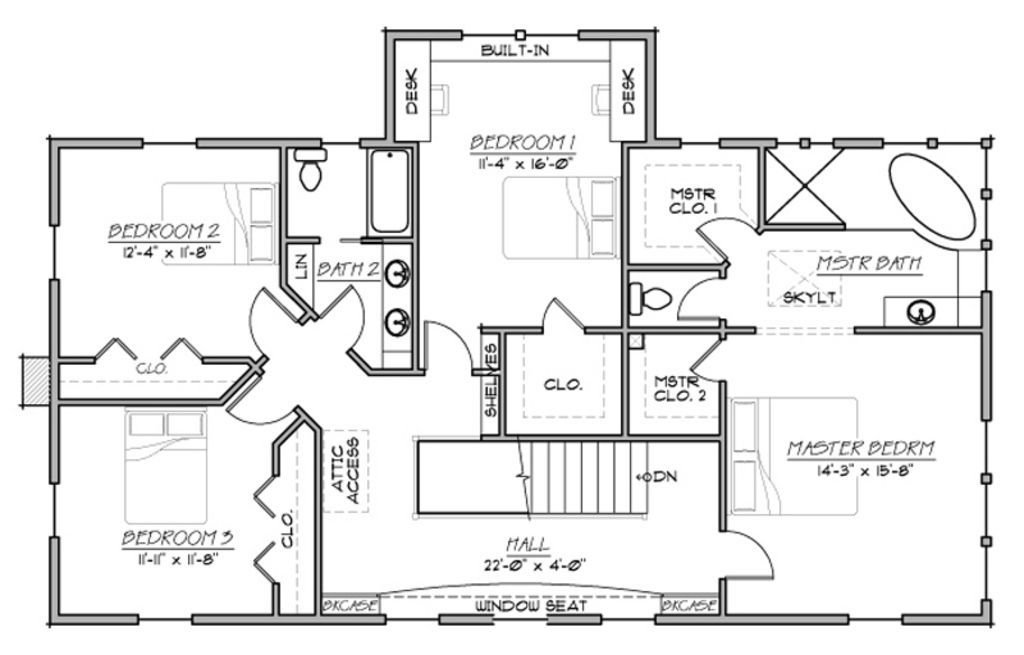 Best Country Style House Plan Farmhouse Two Story 4 Bedroom With Pictures