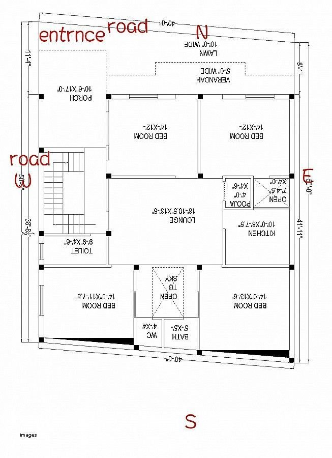 Best South Facing House Plans As Per Vastu Plan Vaastu North With Pictures