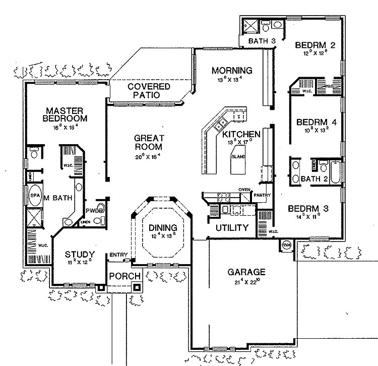 Best I Love This House Layout Open Floor Plan Split Plan With Pictures