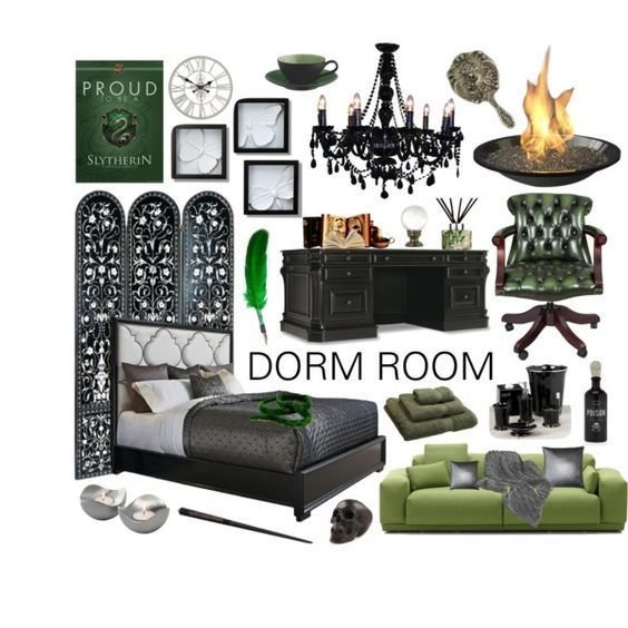 Best Slytherin Room Ideas Slytherin Dorm Room Décor With Pictures