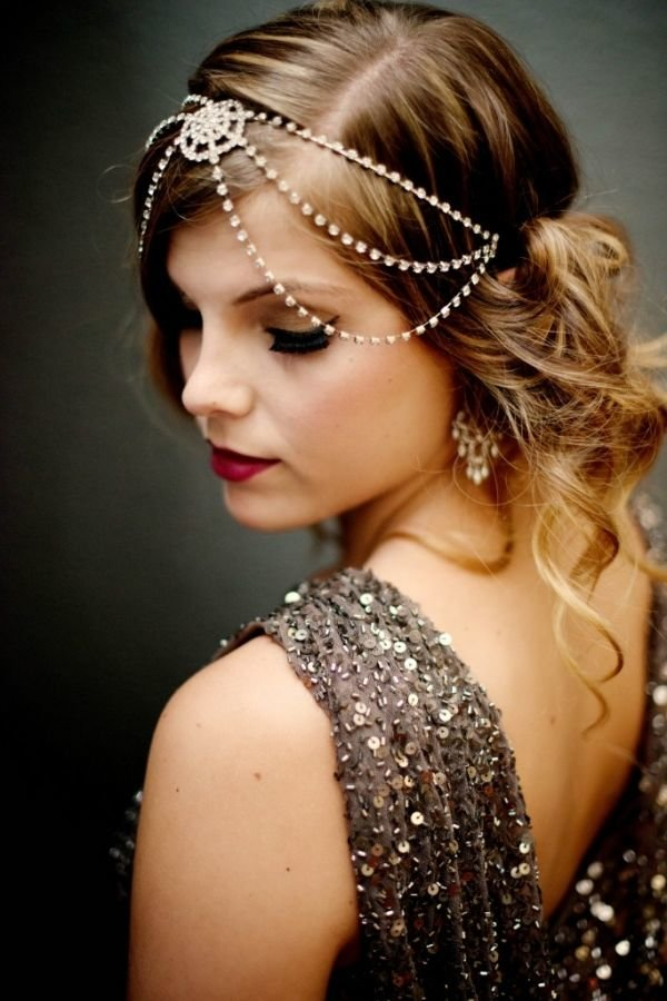 Free Great Gatsby Hairstyles For Long Hair Retro Wedding Wallpaper
