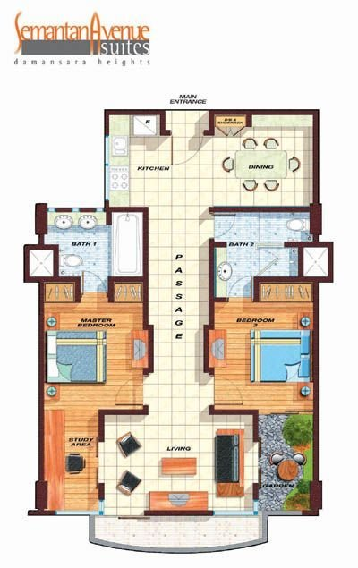 Best Presidentual Suite Floor Plans Typical Layout Plan With Pictures