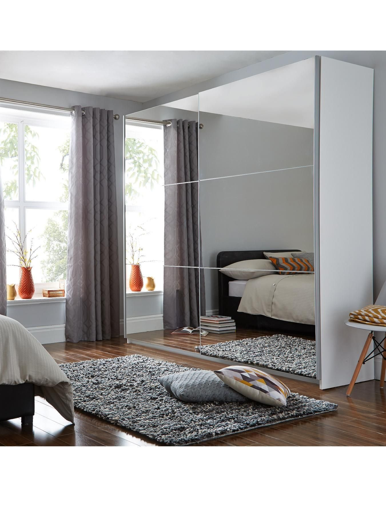 Best Universal Large Sliding Door Mirrored Wardrobe In 2019 With Pictures
