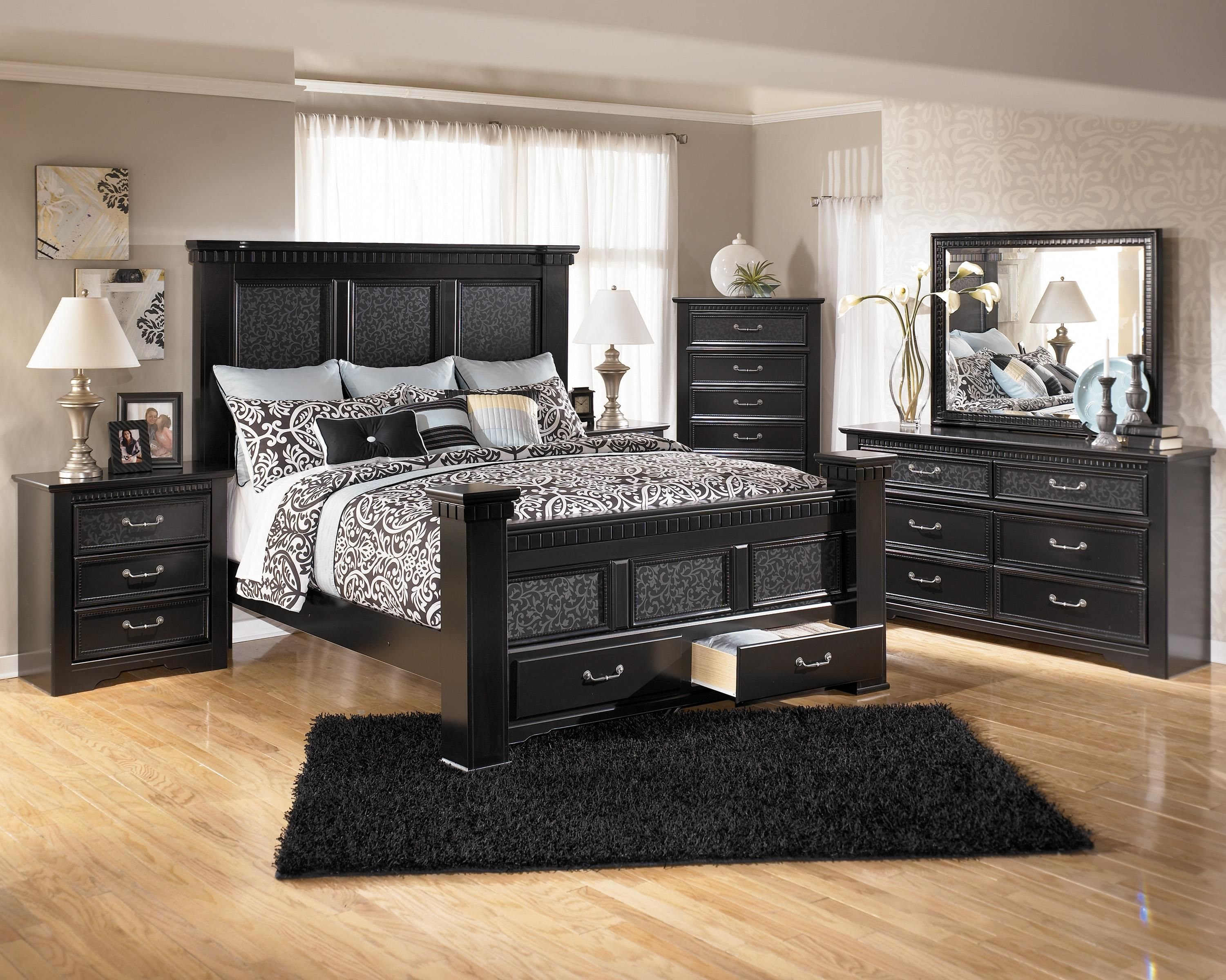 Best Ashley Furniture Cavallino Bedroom Set With Mansion Poster With Pictures
