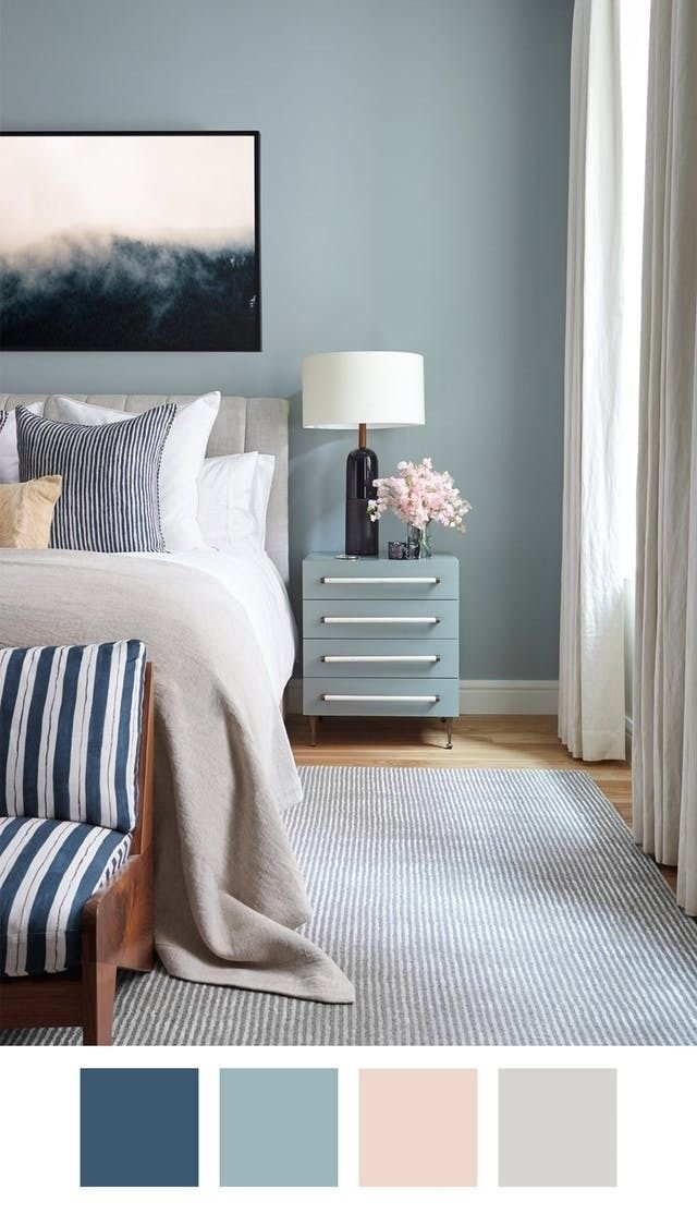 Best Killer Color Palettes To Try If You Love Blue Bedrooms With Pictures