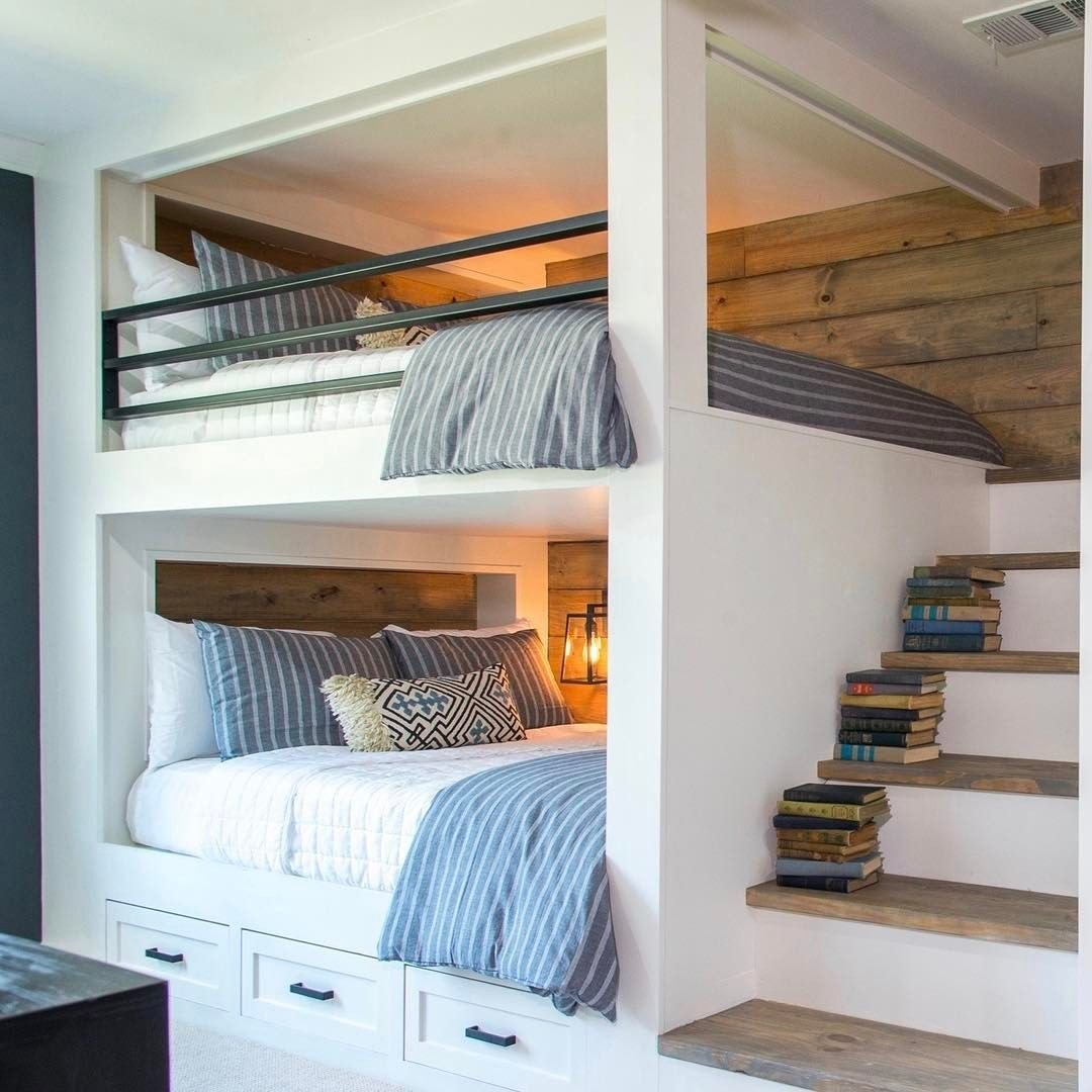Best Built In Bunk Beds Ideas To Make An Enjoyable Bedroom With Pictures