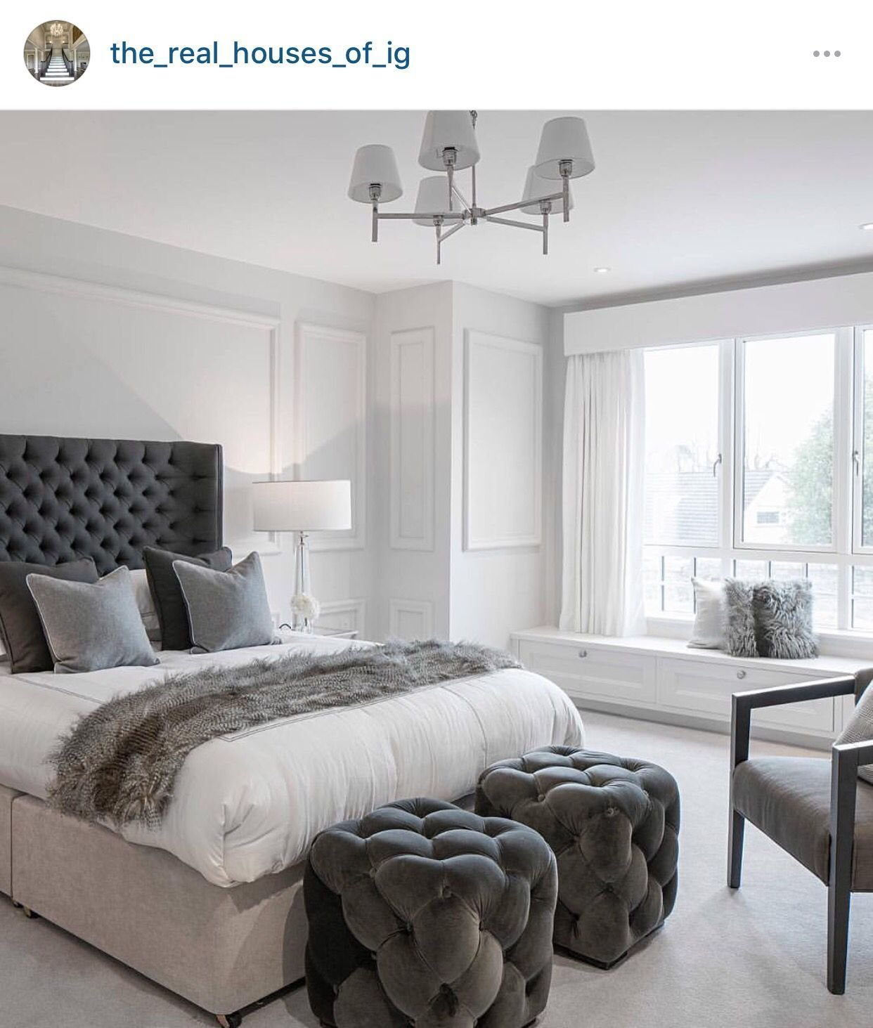 Best White And Gray Bedroom Theme B E D G U E S T S In 2019 With Pictures