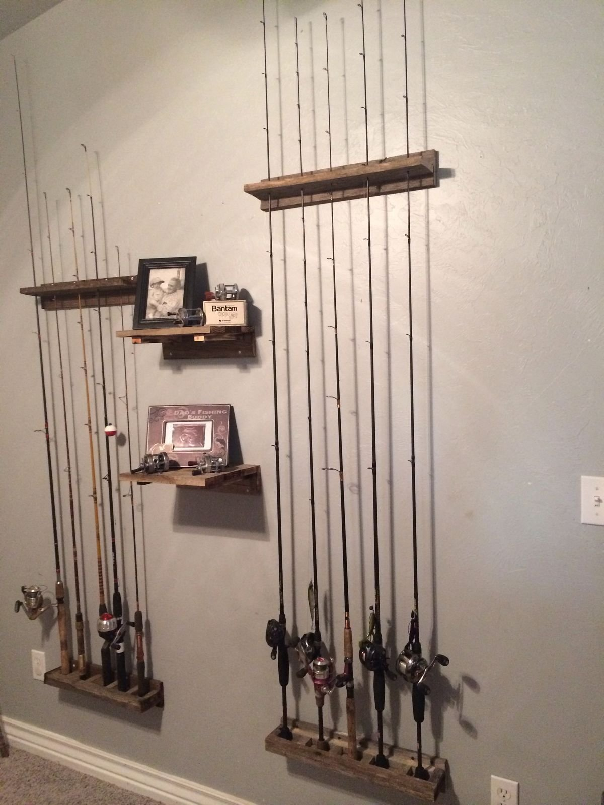 Best Pin By Deborah Tanner On Fishing Pole Storage And Display With Pictures