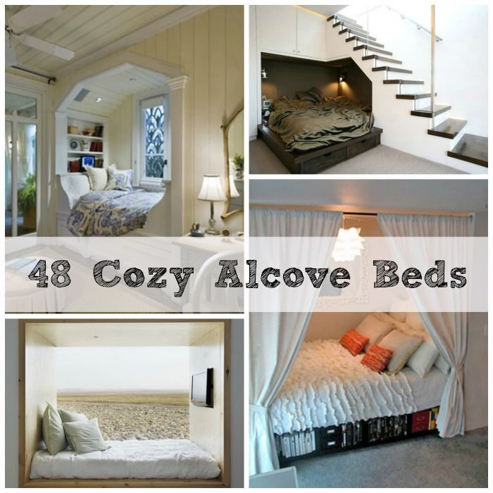 Best 48 Totally Cozy Alcove Beds For The Home Alcove Bed With Pictures