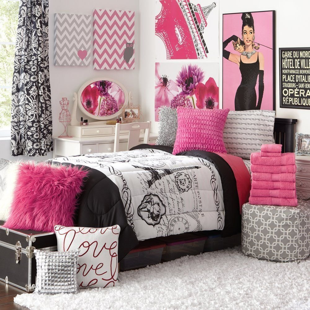 Best Teens Paris Bedroom Decor M S Room Dorm Room Themes With Pictures
