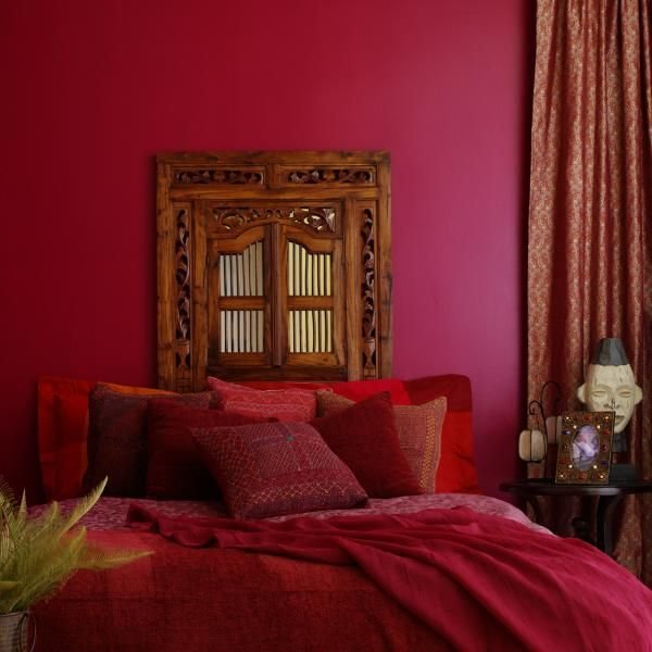 Best Exotic Red Bedroom A Deep Red Room Will Make A Small With Pictures