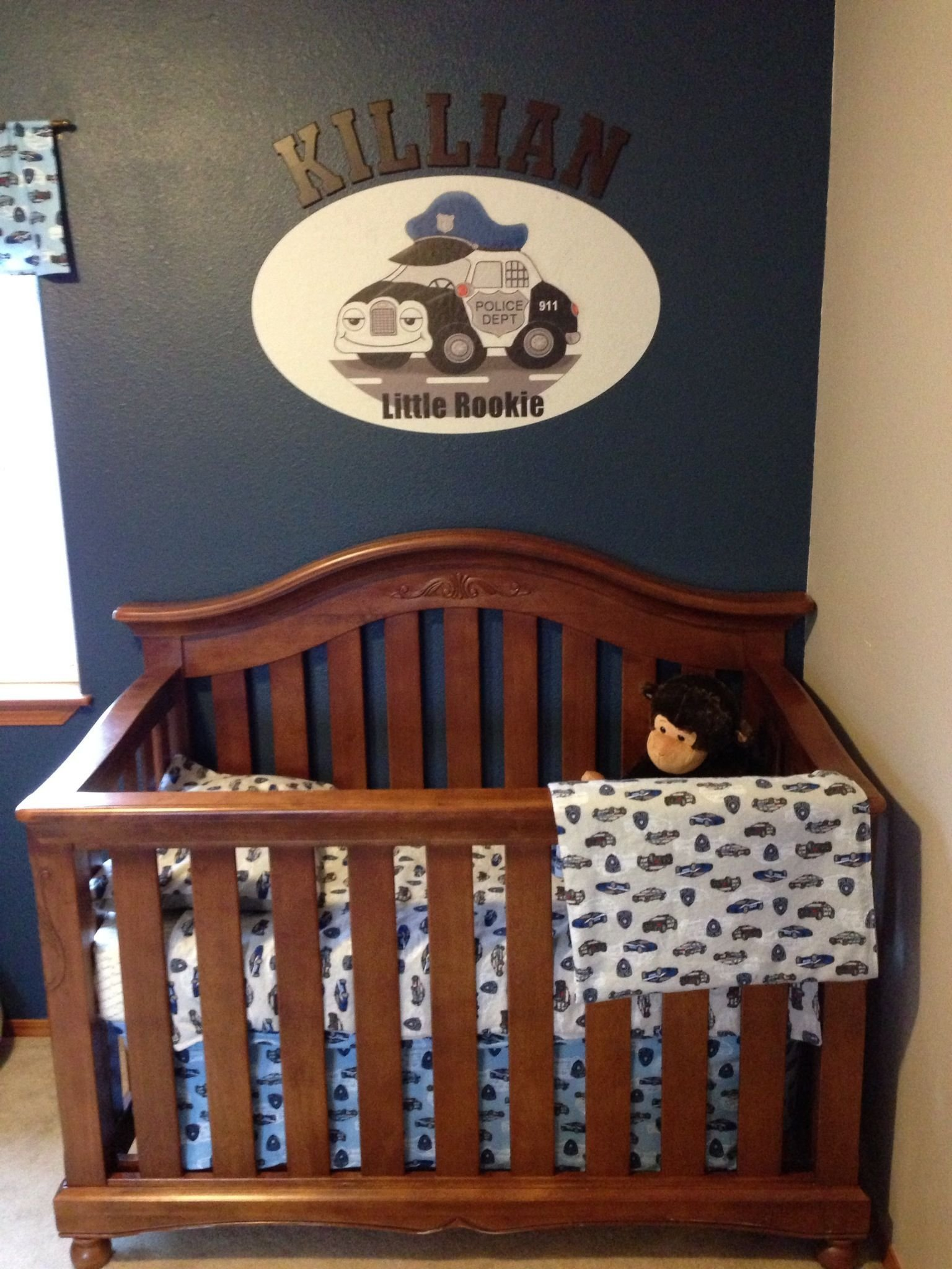 Best Police Baby Nursery Love Even Love The Name Will With Pictures