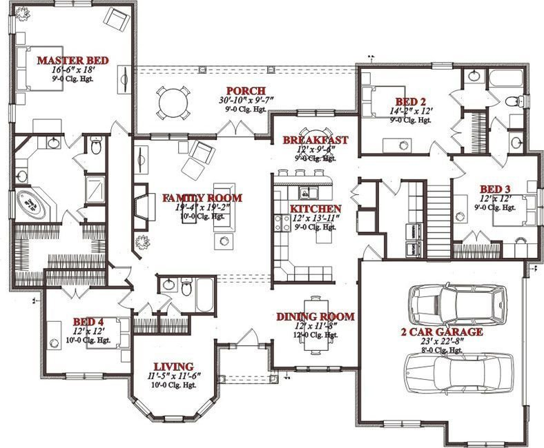 Best Bedrooms 3 Batrooms On 2 Levels House Plan 826 All With Pictures