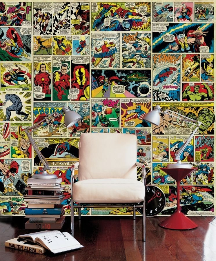Best Avenger Comic Str*P Wall Mural Photo Wallpaper With Pictures