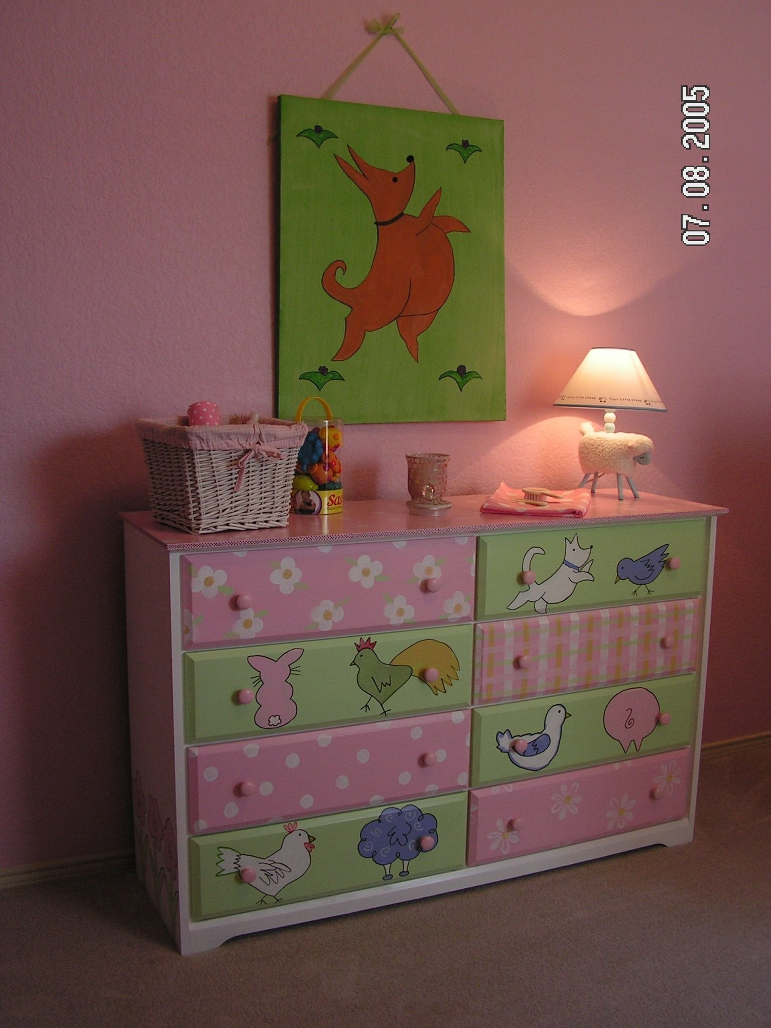 Best Furniture Custom Children Furniture Hand Painted Baby Girl With Pictures