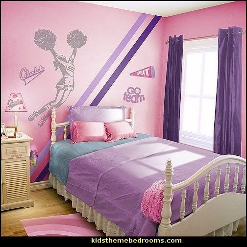 Best Cheerleader Theme Bedroom Decorating Ideas Cheer Ideas With Pictures