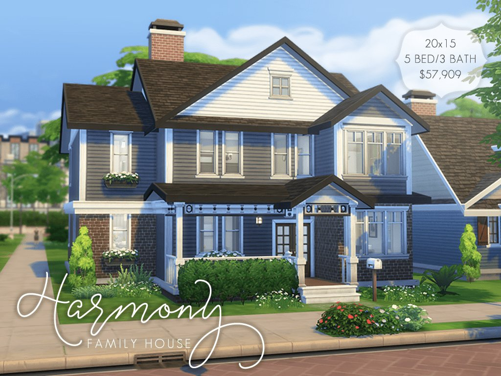 Best Harmony Family House ♡ Here Is A Larger Family Home For With Pictures