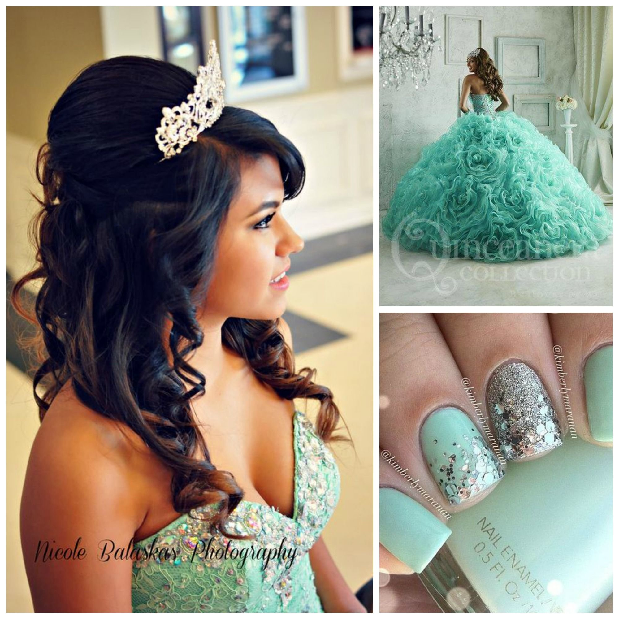 Free Hairstyles For Quinceaneras Quinceanera Hairstyles Pinterest Design Wallpaper