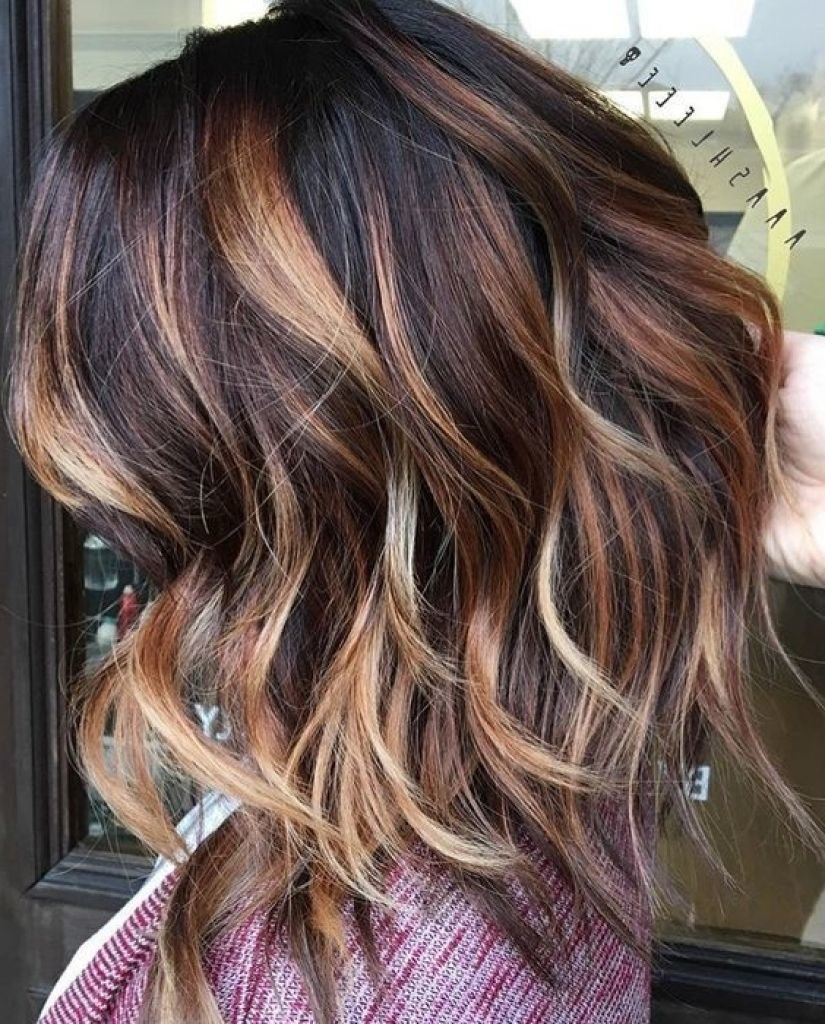 Free Dark Brown Hair With Caramel Balayage 3D Hair Color Best Wallpaper
