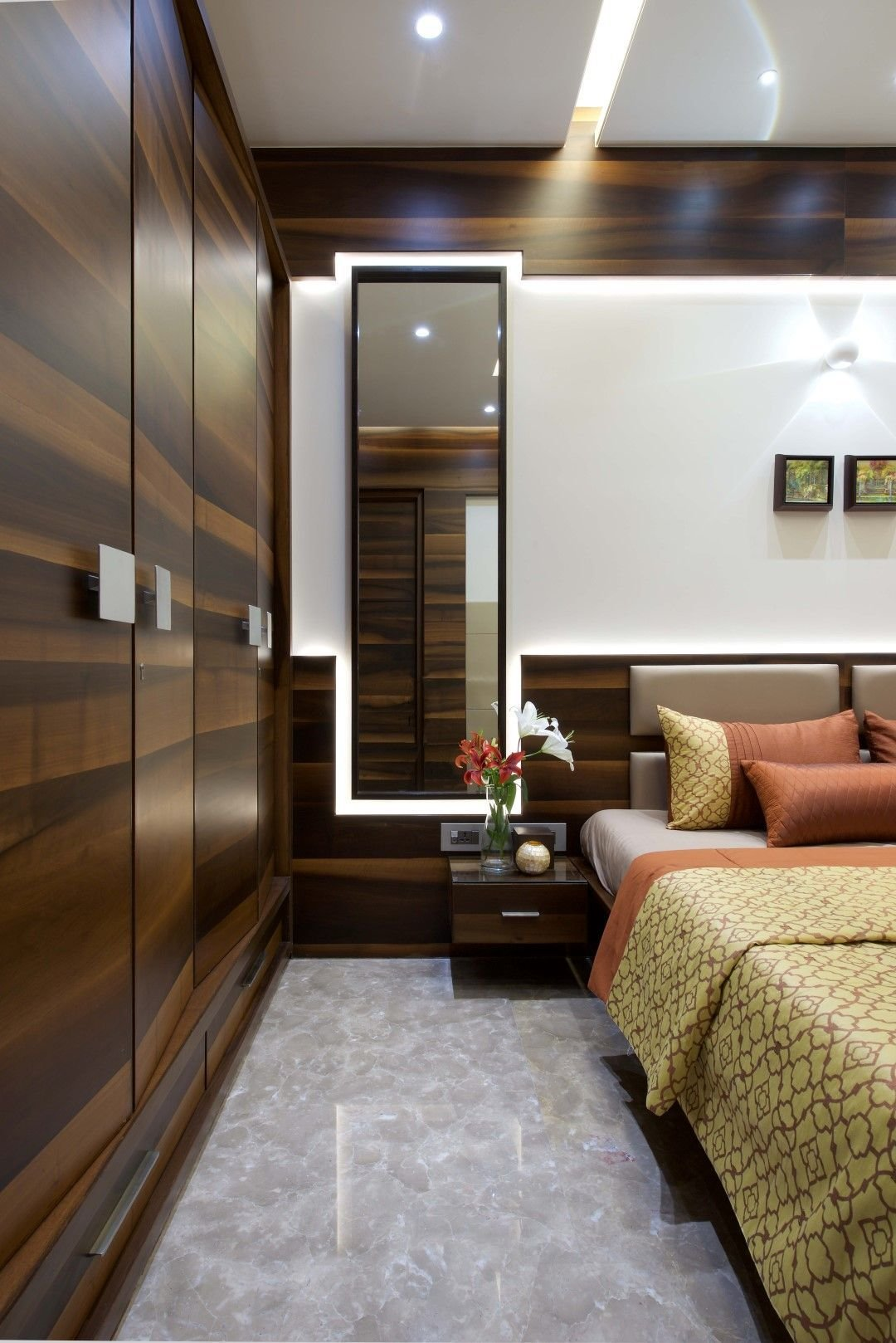 Best 3 Bhk Apartment Interiors At Yari Road Bedrooms With Pictures