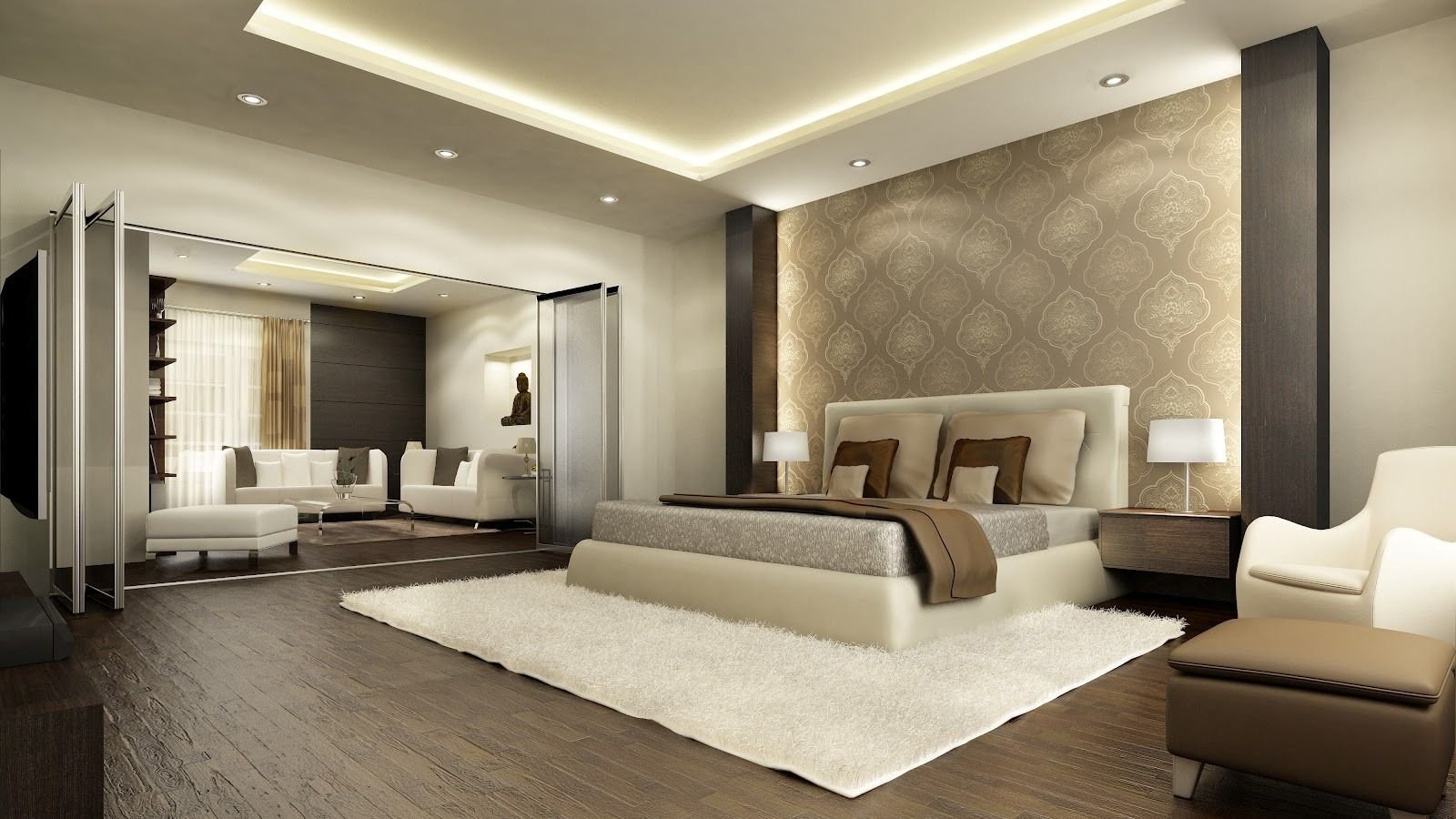 Best Fascinating Luxury Strangely Bedroom Interior Design Fur With Pictures