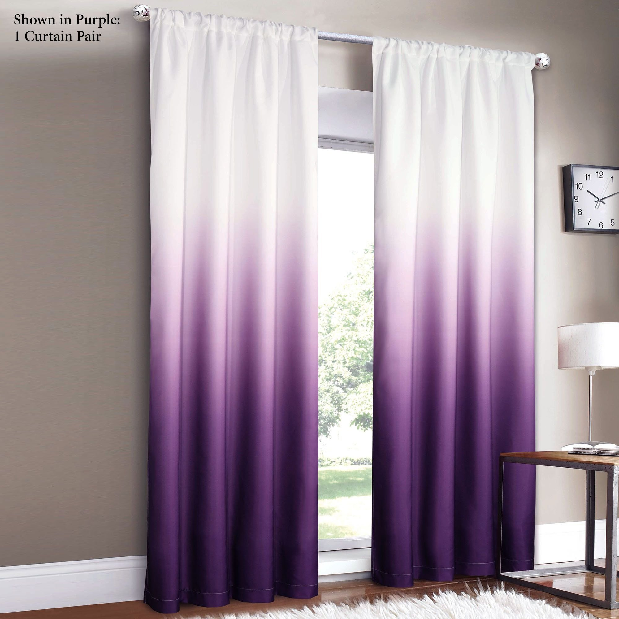 Best Shades Ombre Curtains My Dream House Ombre Curtains With Pictures