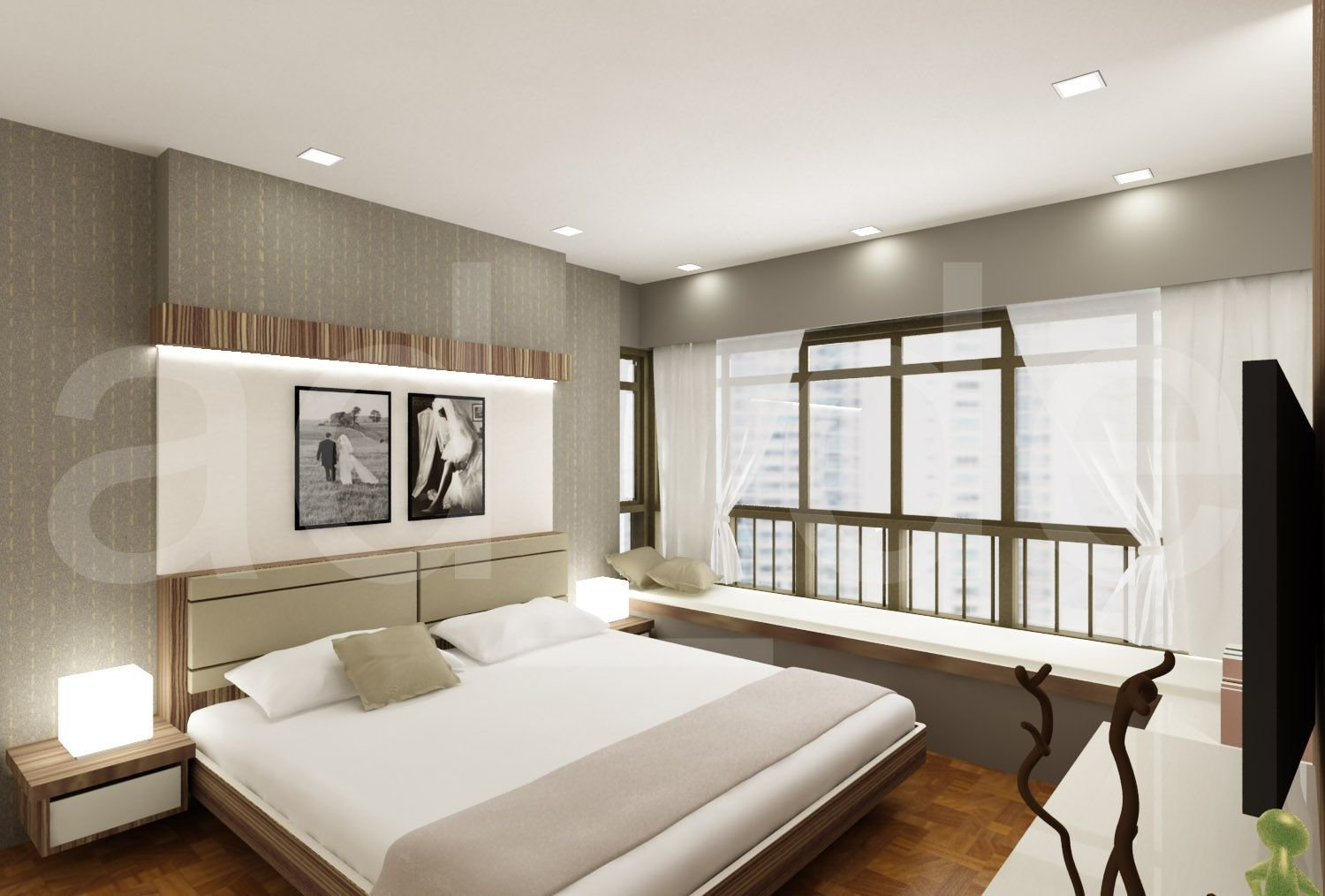 Best Interior Designer Adrian Lau Hdb And Condo Bedroom 3D Designs Vincent Interior Blog Our With Pictures