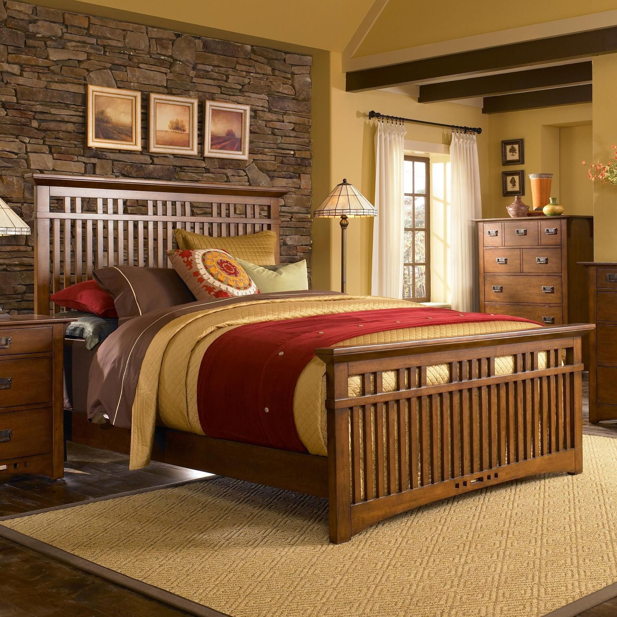 Best Mission Bedroom Set By Broyhill Mission Beauty Of With Pictures
