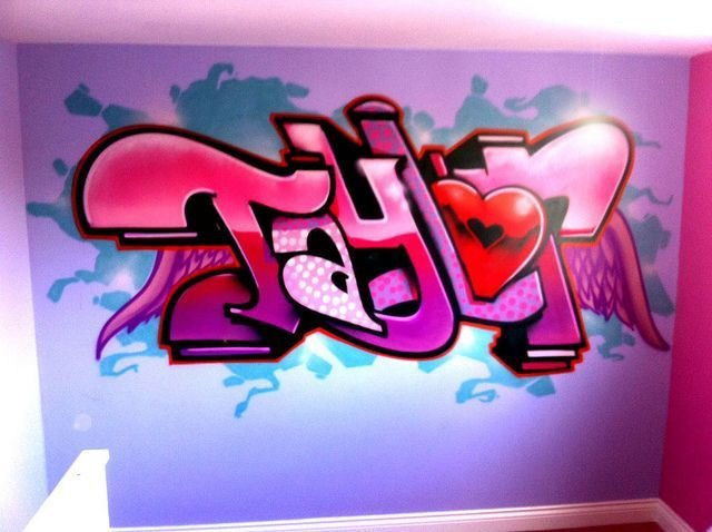Best Pin By Jill On Kids Graffiti Bedroom Graffiti Wallpaper With Pictures