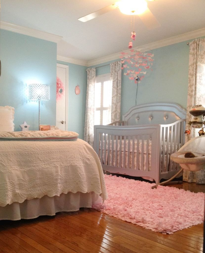 Best London S Lovely Aqua Pink And Grey Nursery Nursery With Pictures