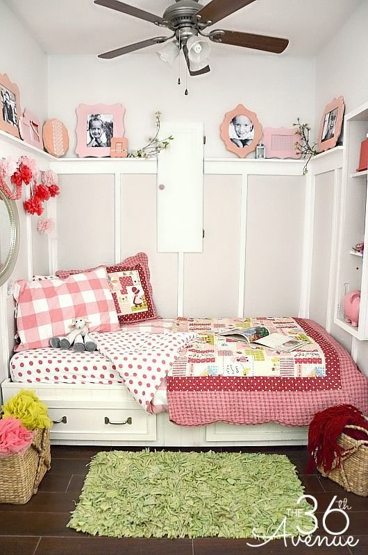 Best How To Decorate A Small Bedroom Girl S Rooms Bedroom With Pictures