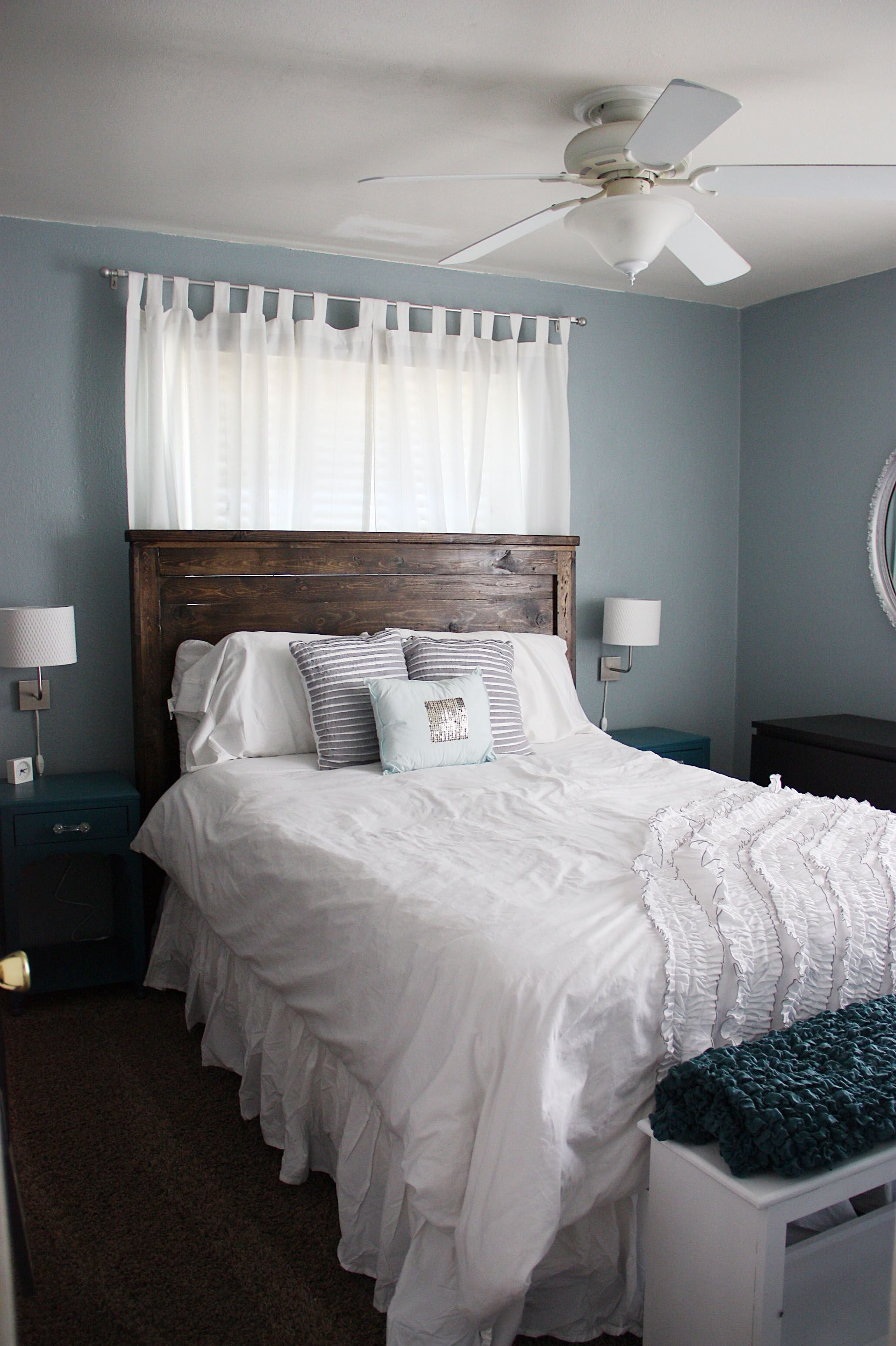 Best Nice Colors For Bedroom Blue Cloud Antique Silver And With Pictures