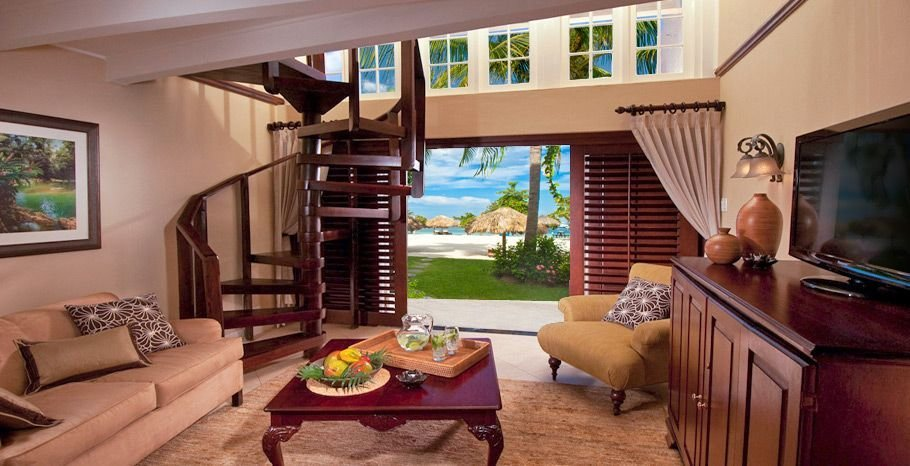 Best Caribbean Honeymoon Beachfront Two Story One Bedroom With Pictures