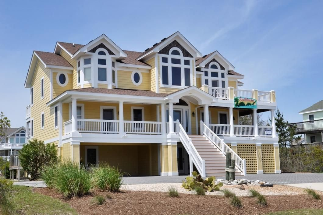 Best Sea Monster Corolla Rentals Village Realty 8 Bedroom With Pictures