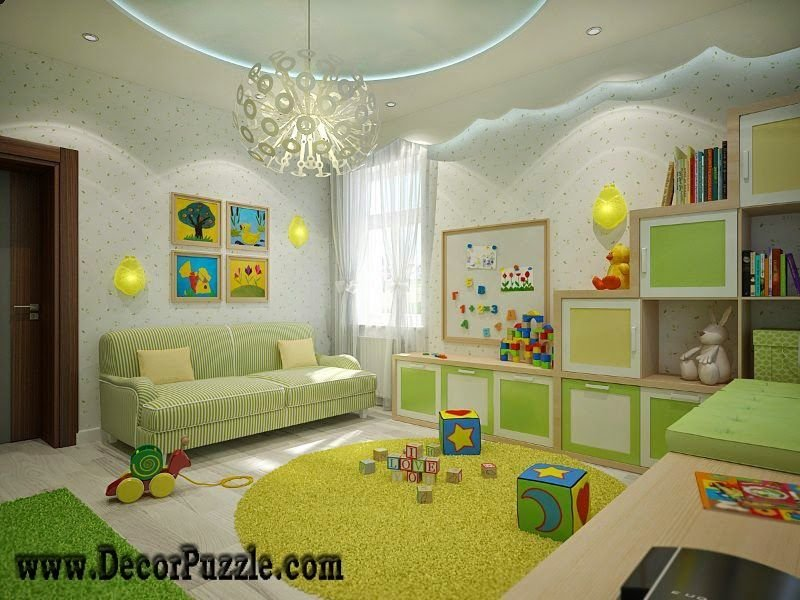 Best Nursery Ceiling Designs 2015 Plaster Of Paris Design Pop With Pictures
