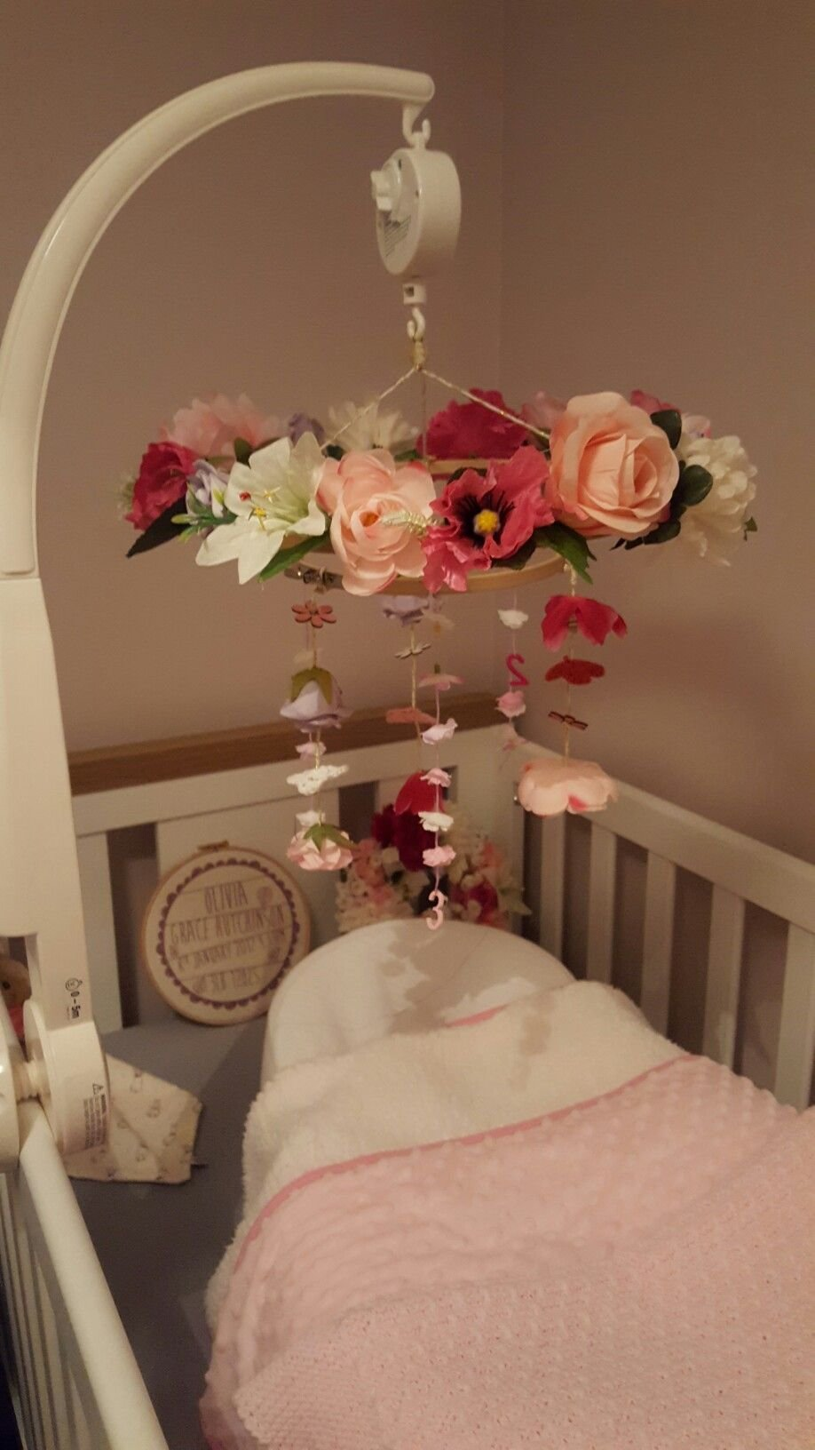 Best Diy Woodland Nursery Mobile For Baby Girls Room Babies With Pictures