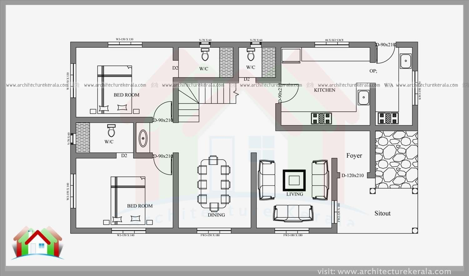 Best 4 Bedroom House Plans Kerala Style Architect It Really With Pictures