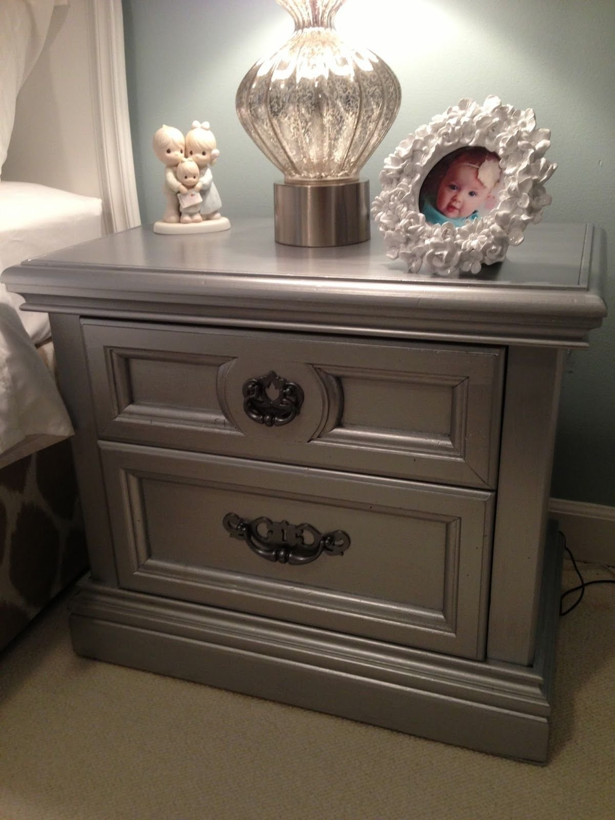 Best Martha Stewart Metallic Paint At Home Depot Takes Old With Pictures