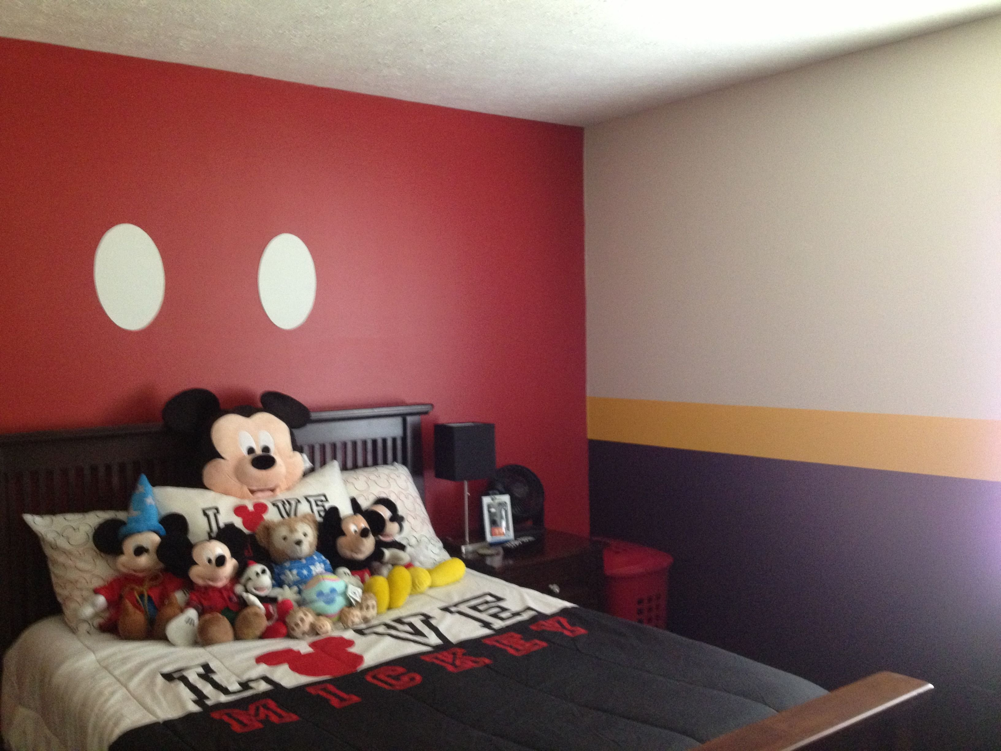 Best Mickey Mouse Bedroom Mickey Mouse Crazy Mickey With Pictures