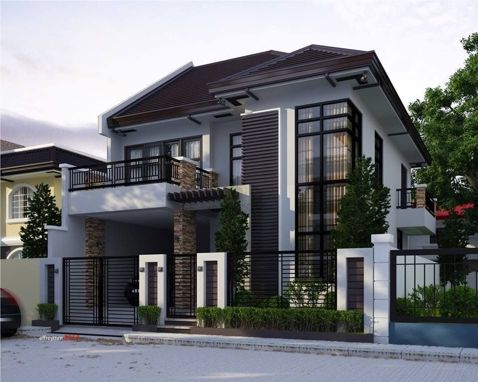 Best Two Storey House Humble Not So Humble Abodes House Design Philippines House Design With Pictures